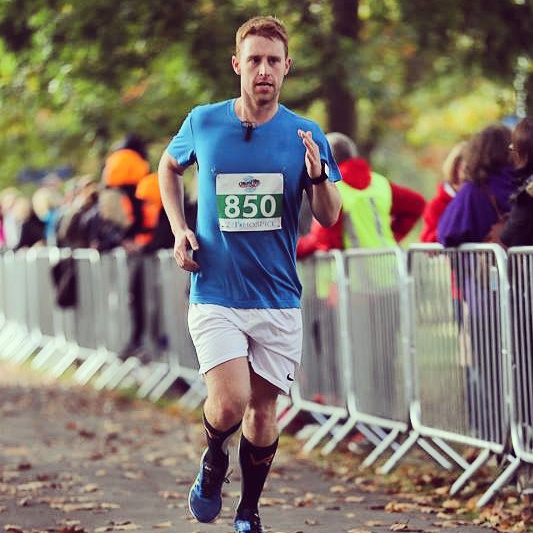 Matthew Carlton is running the Paris Marathon for Parkinson's UK