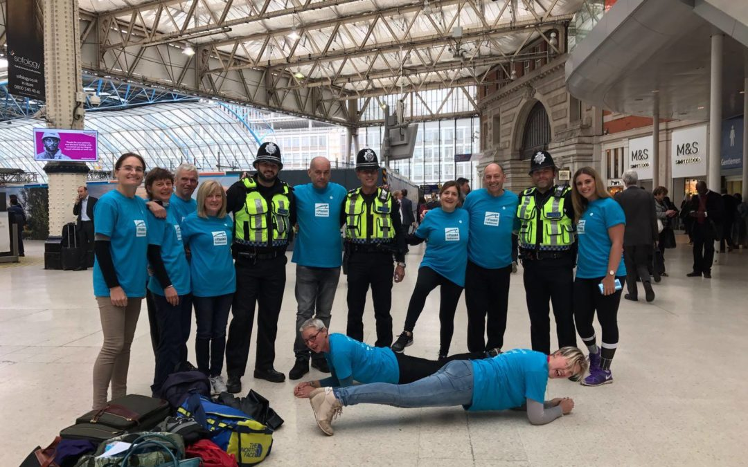 Brian's Blog #9: Raising the Plank to raise awareness and money for Parkinsons